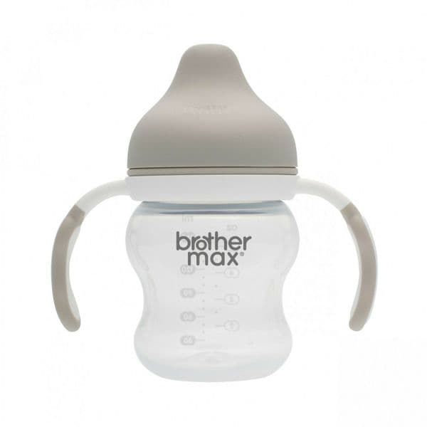 Brother Max - Spout Cup with Handles 160ml/5oz - Grey Neutral